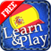 Learn&Play Spanish FREE ~easier & fun! This quick, powerful gaming method with attractive pictures is better than flashcards